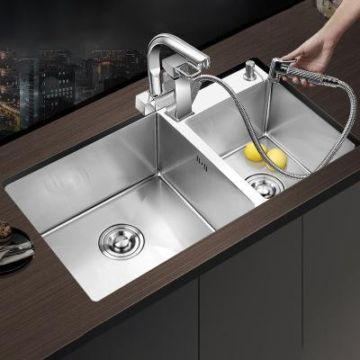 Chậu rửa bát Handmade Inox 304 Miken MKRB-7543L