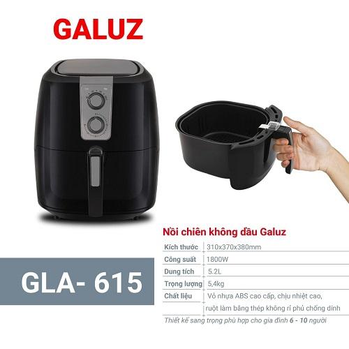 Nồi chiên không dầu GALUZ GLA 615