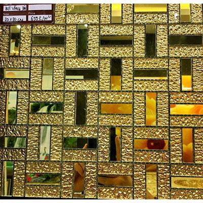 Gạch ốp trang trí phòng karaoke Mosaic 0190X