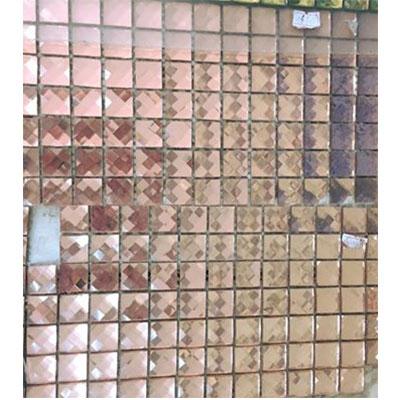 Gạch ốp trang trí phòng karaoke Mosaic 13 Cạnh Hồng
