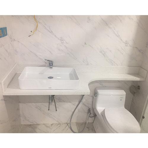 Mặt bàn đá chậu rửa lavabo HM-90113