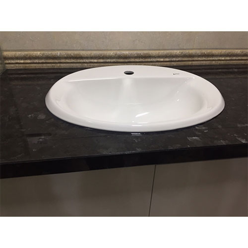 Mặt bàn đá chậu rửa lavabo HM-90116