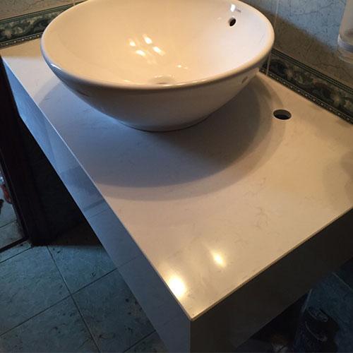 Mặt bàn đá chậu rửa lavabo HM-90117