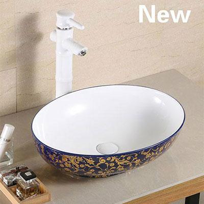 Chậu rửa lavabo nghệ thuật DADA A433-CEB06