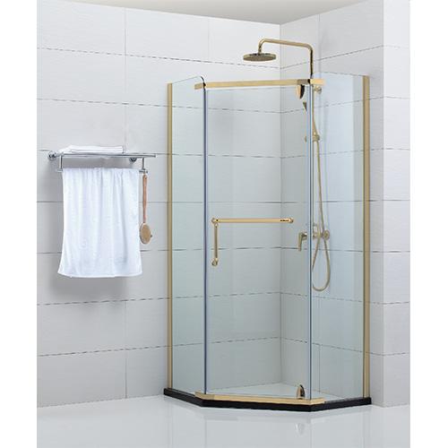 Vách kính nhà tắm màu vàng Fendi FIV-1X3-G