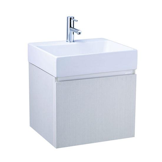 Chậu lavabo và tủ treo Caesar LF5255-EH154WG