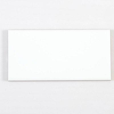 Gạch thẻ ốp tường màu trắng mờ 75x150mm M751500Y