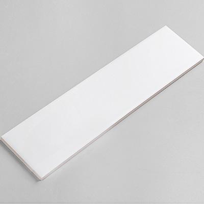 Gạch thẻ ốp tường trắng bóng phẳng 75x300 M75300Z