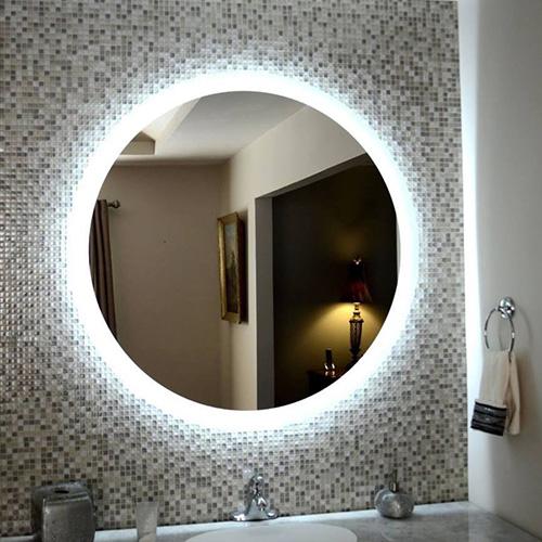 Gương đèn led  tròn MIKEN MKG-T005