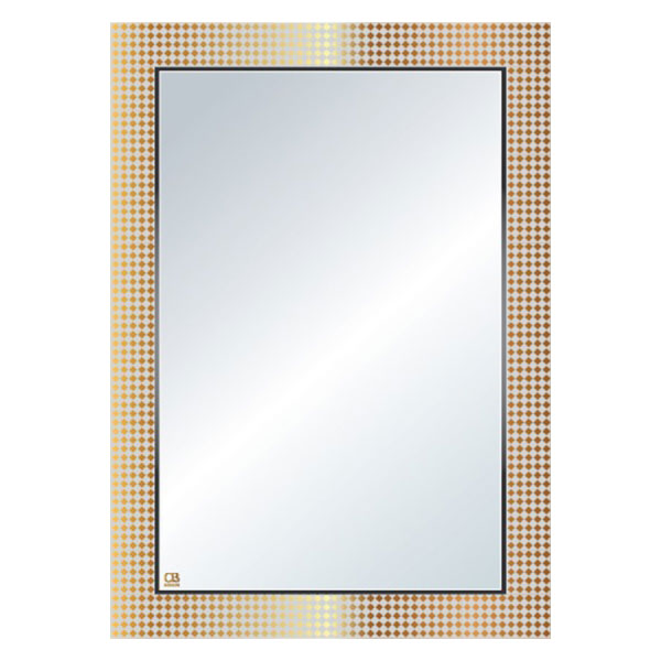 Gương phôi mỹ QB Q122 50x70