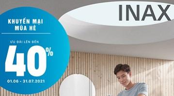 Khuyến mại thiết bị vệ sinh INAX chính hãng