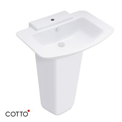 Chậu rửa lavabo COTTO C01467/C4116