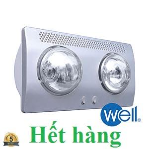 Đèn sưởi nhà tắm Well BS-2W