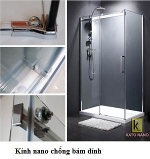 Phòng tắm vách kính Kato Nano CKT-01