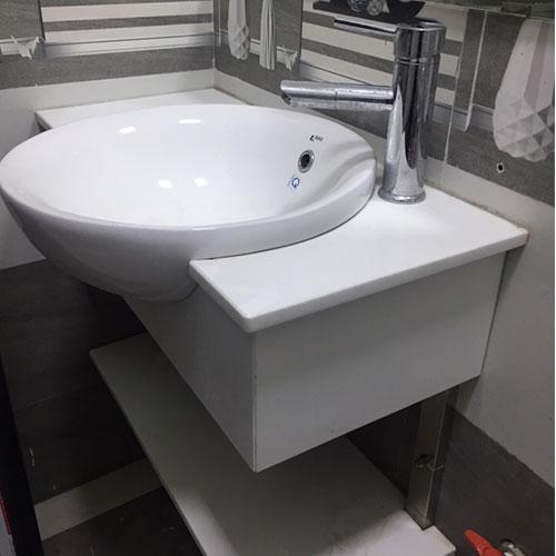 Mặt bàn đá chậu rửa lavabo HM-90120