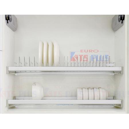 Giá bát đĩa cố định 2 tầng Eurokit DK12C.90