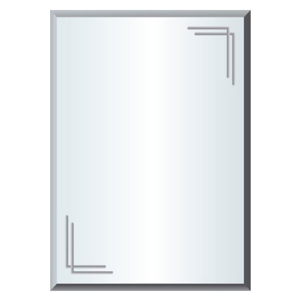 Gương phôi mỹ QB Q508 45x60