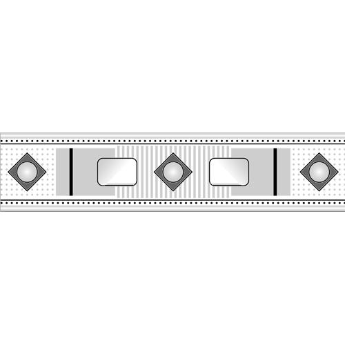 Gạch viền Mikado 0.6x25 V6104