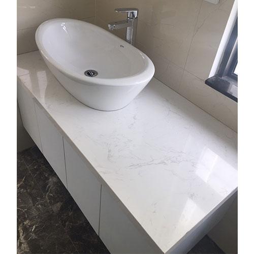 Mặt bàn đá chậu rửa lavabo HM-90123