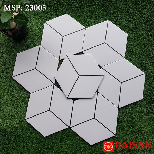 Gạch bông men lục giác 200x230 23003
