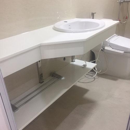 Mặt bàn đá chậu rửa lavabo HM-90125