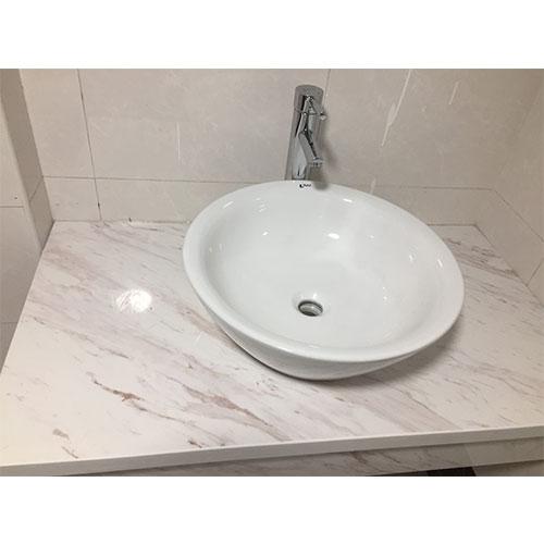 Mặt bàn đá chậu rửa lavabo HM-90126