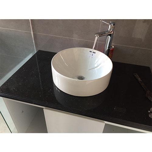 Mặt bàn đá chậu rửa lavabo HM-90127