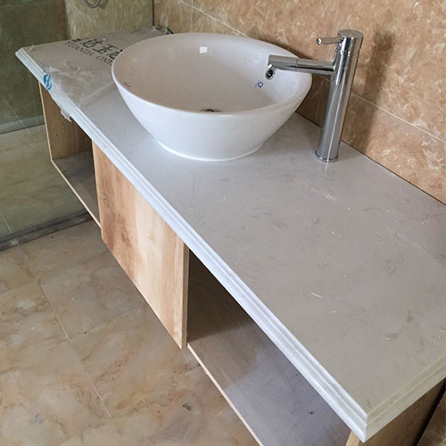 Mặt bàn đá chậu rửa lavabo HM-90128