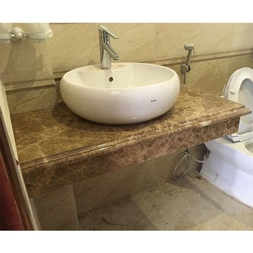 Mặt bàn đá chậu rửa lavabo HM-90129