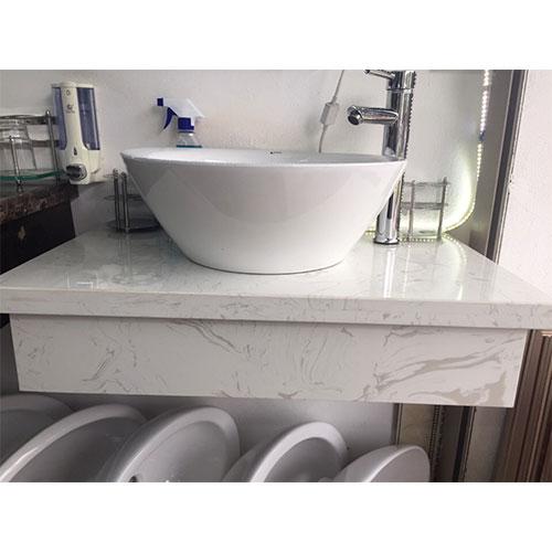 Mặt bàn đá chậu rửa lavabo HM-90130