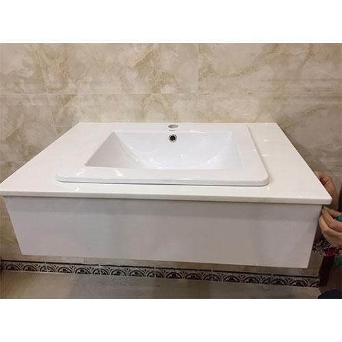Mặt bàn đá chậu rửa lavabo HM-90132