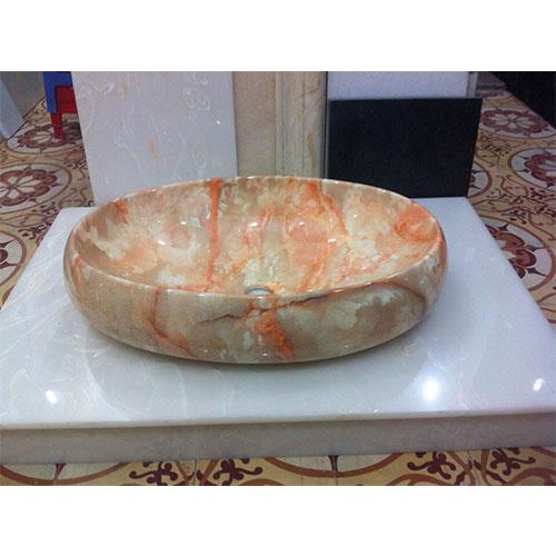 Mặt bàn đá chậu rửa lavabo HM-90111
