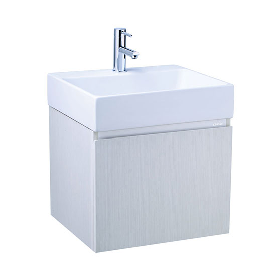 Chậu lavabo và tủ treo Caesar LF5259-EH156WG