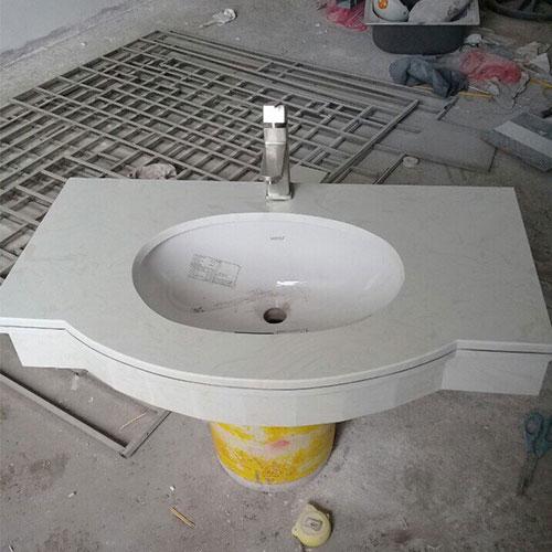 Mặt bàn đá chậu rửa lavabo HM-90134