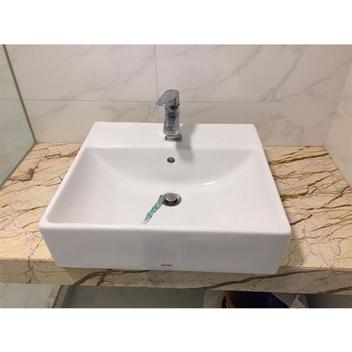 Mặt bàn đá chậu rửa lavabo HM-90138