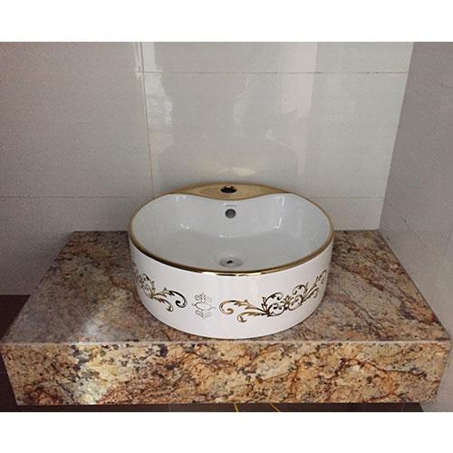 Mặt bàn đá chậu rửa lavabo HM-9014