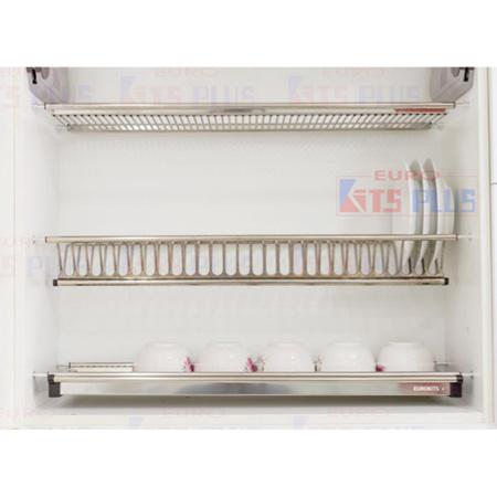 Giá bát đĩa cố định 3 tầng Eurokit DK12A.90
