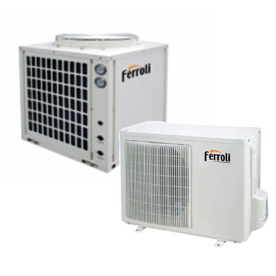 Máy bơm nhiệt Ferroli Heatpump KRSF-3.4/H-A