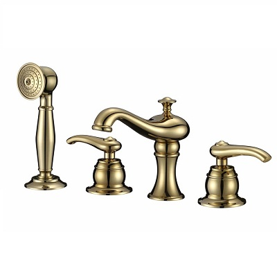 Vòi bồn tắm mạ vàng Cleanmax 5117
