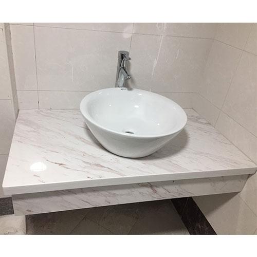 Mặt bàn đá chậu rửa lavabo HM-9016