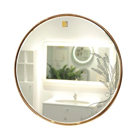 Gương phòng tắm viền Inox không đèn Led Đình Quốc DQ 63002