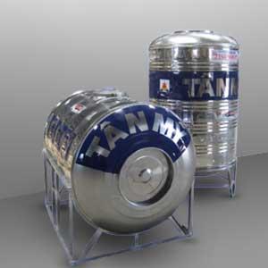 Bồn Inox Tân Mỹ TM2500L ( Đứng + Ngang)