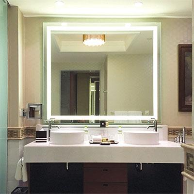 Gương phòng tắm đèn led Đình Quốc DQ 66670B