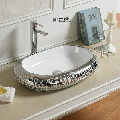 Chậu rửa lavabo nghệ thuật DADA 7042SP-1