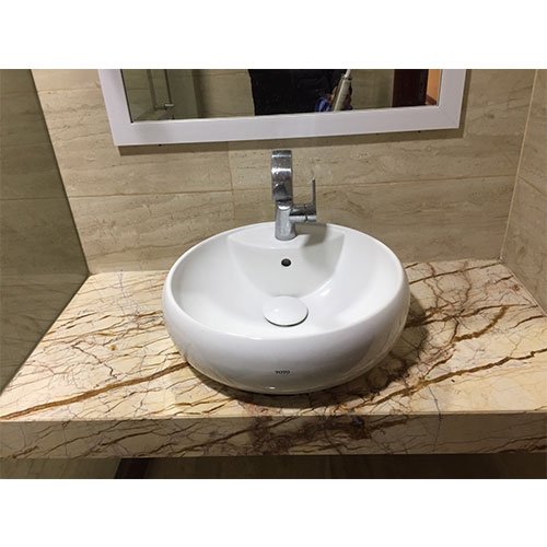 Mặt bàn đá chậu rửa lavabo HM-9018