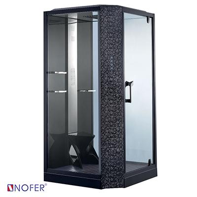 Phòng xông hơi ướt Nofer VS-89101S-R Black