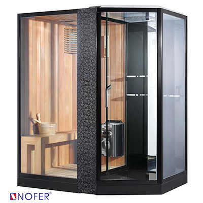 Phòng xông hơi Nofer VS-89103S-L Black
