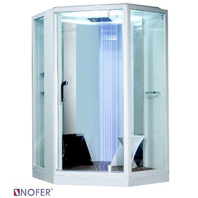 Phòng xông hơi ướt Nofer VS-89106S White