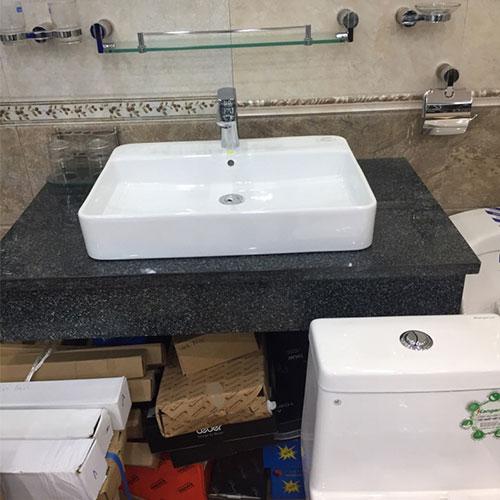 Mặt bàn đá chậu rửa lavabo HM-9019