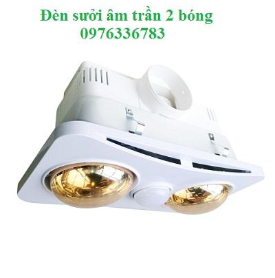 Đèn sưởi nhà tắm Braun BK02GR